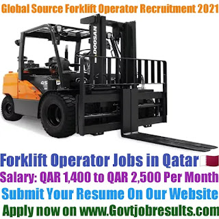 Global Sources Forklift Operator Recruitment 2021-22