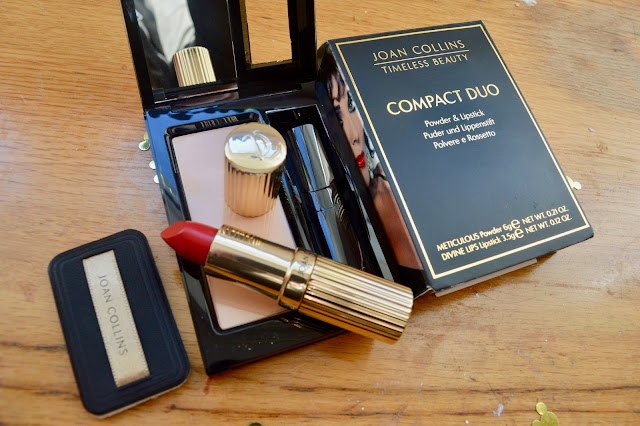 Joan Collins timeless beauty compact