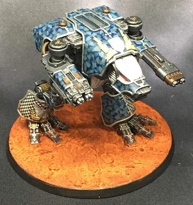 Legio Tempestus Warhound Titan for Adeptus Titanicus - Lux Curet