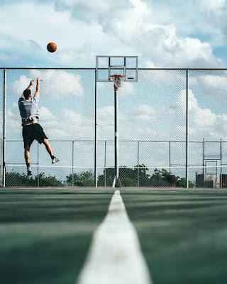 A basketballer