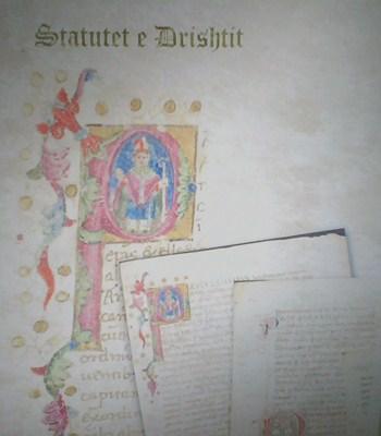 statutet e drishtit statuta et ordinationes capituli eclesiae cathedralis drivastensis