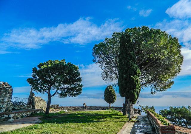 bastião do Castelo de Castelmola, Sicília