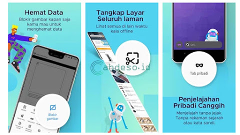 Cara Screenshot Panjang Halaman Website di Samsung J2