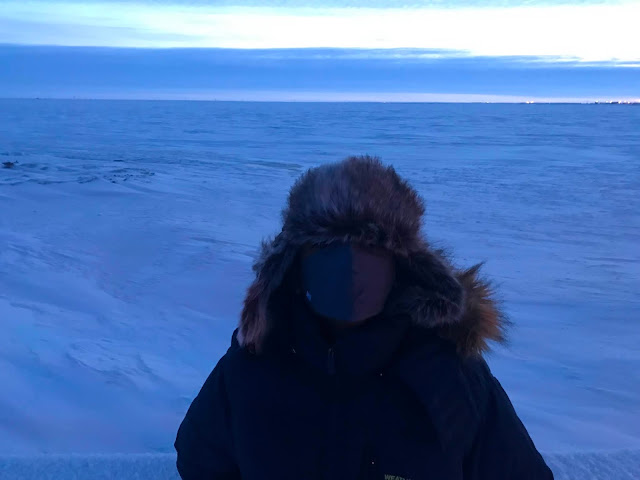 Northernmost Point of the United States - Top of the World - Barrow / Utqiaġvik, Alaska | Supratim Sanyal's Blog (C) 2020 Supratim Sanyal