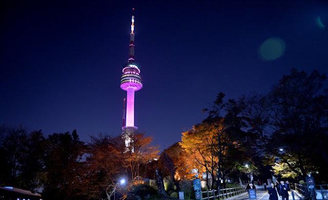 Tháp truyền hình Namsan - Địa điểm ngắm trọn Seoul
