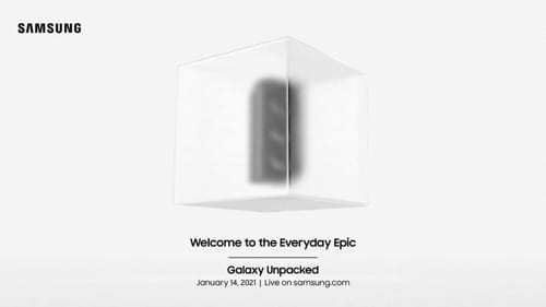 Samsung officially confirmed the Galaxy S21 event on January 14th