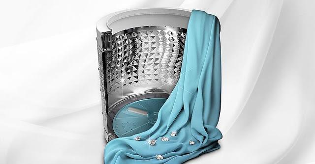 Máy Giặt Samsung WA12J5750SP/SV