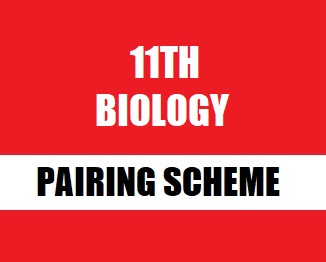 11th Class (Inter Part-1) Pairing Scheme (2019) of Biology - TALEEM 360