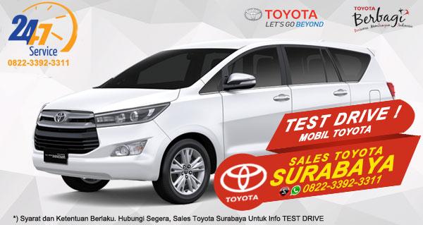 Info Test Drive Toyota Kijang Innova Surabaya