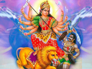 durga devi killed demon