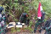 Patroli Jalur Ilegal, Satgas Yonif 642 Kapuas berhasil Amankan 42,928 Kg Narkoba