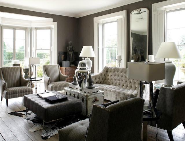 Living Room Ideas Grey White