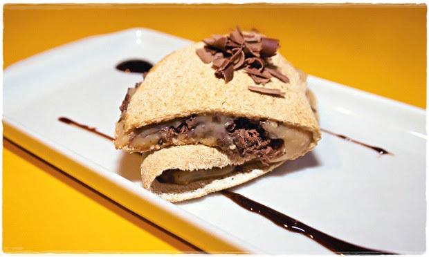 Tapioca Café Doce de Leite Chocolate Receita