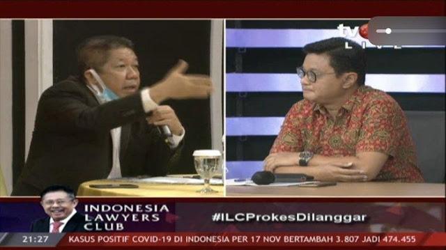 "Effendi Gazali Skakmat Tenaga Ahli KSP di ILC, ""Apa Jokowi Mau Acara Gibran Dihentikan?"""