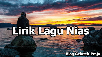 Gaagu Si nofabali Todo Lirik Lagu |Mofano'o Lo Mangonao