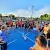 Após reforma, prefeitura realiza entrega da quadra esportiva do bairro Geni Nunes para comunidade