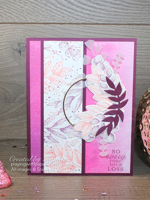 forever fern thinking of you card