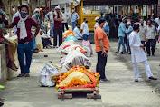 'Tsunami' Covid-19 di India Tembus 400.000 Kasus Per Hari