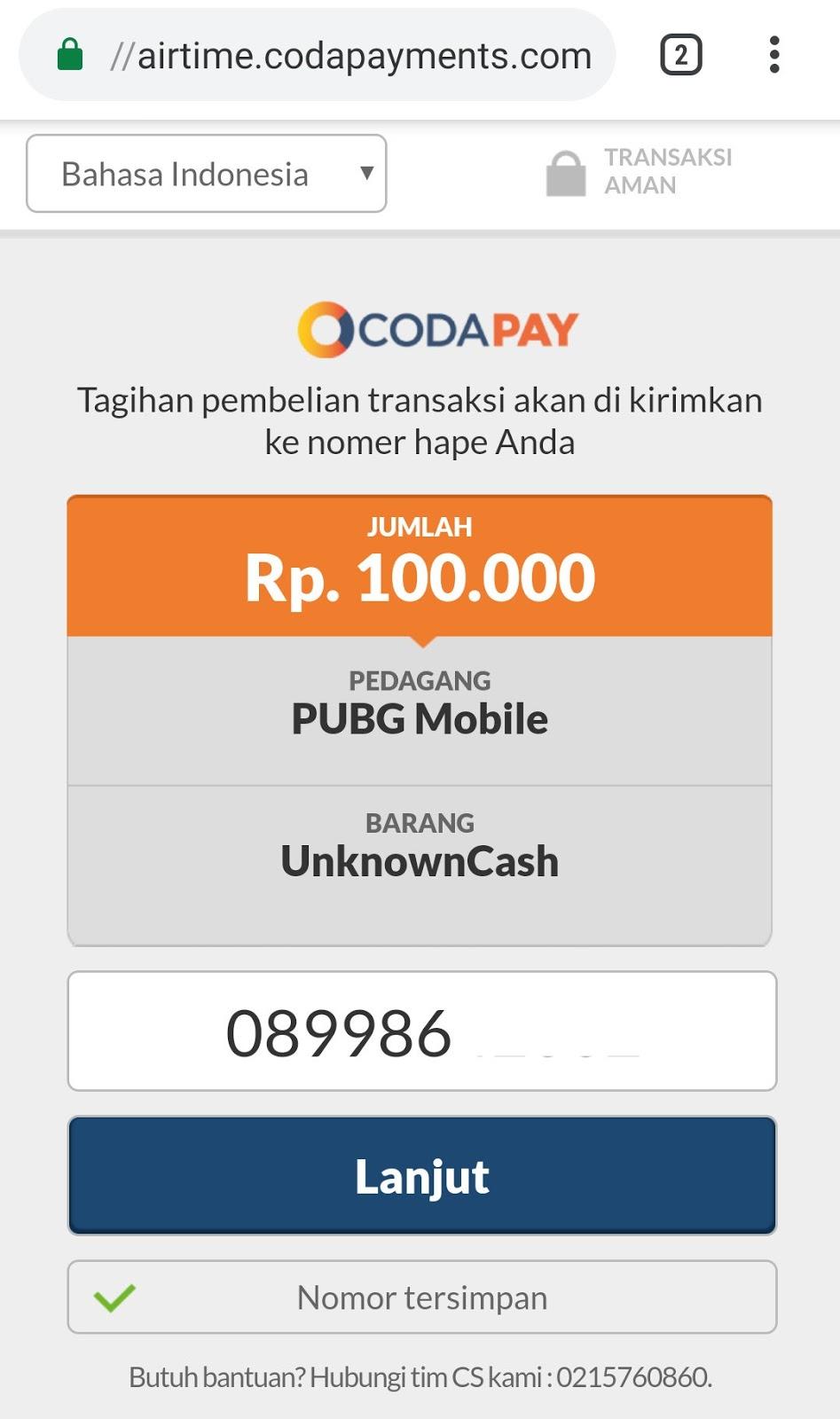 Cara Beli Cash UC PUBG Mobile Pakai Pulsa Dijamin 100% AMAN - Ilusi id
