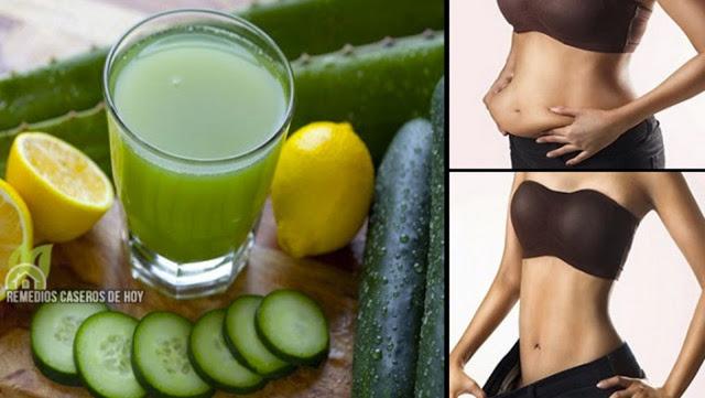 Toma esto antes de irte a la cama, durante 5 noches y despídete de la grasa abdominal