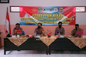 Ditbinmas Polda Jateng Lakukan Asistensi Posko PPKM Mikro di Banjarnegara