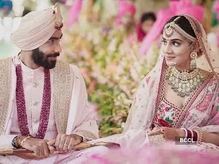 Wedding of Jasprit Bumrah and his Wife Sanjana