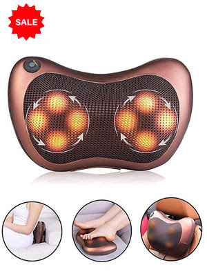 Best Neck and Body Massager for Car | Electronic Heat Cushion | Pain Relief