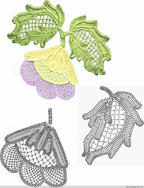 Ergahandmade irish crochet leaves diagrams irish crochet leaves diagrams for instructions click here httpergahandmadespot201506crochet stitchesml ccuart Image collections