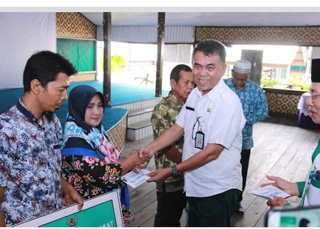 Sekda Natuna Buka Pelatihan Unit Pengumpulan Zakat.