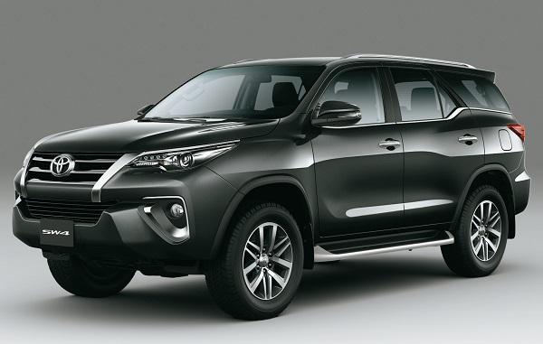 Nueva Toyota SW4 2019