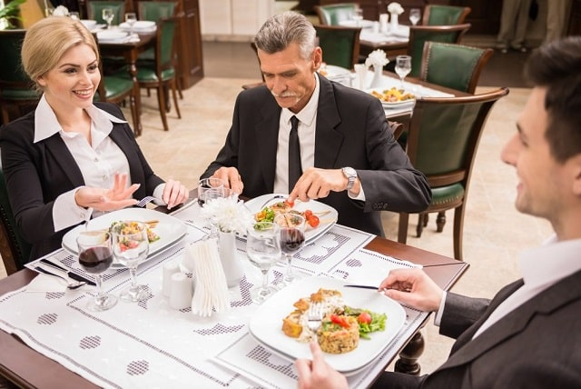 how to book best business dinner meetings company restaurant venues