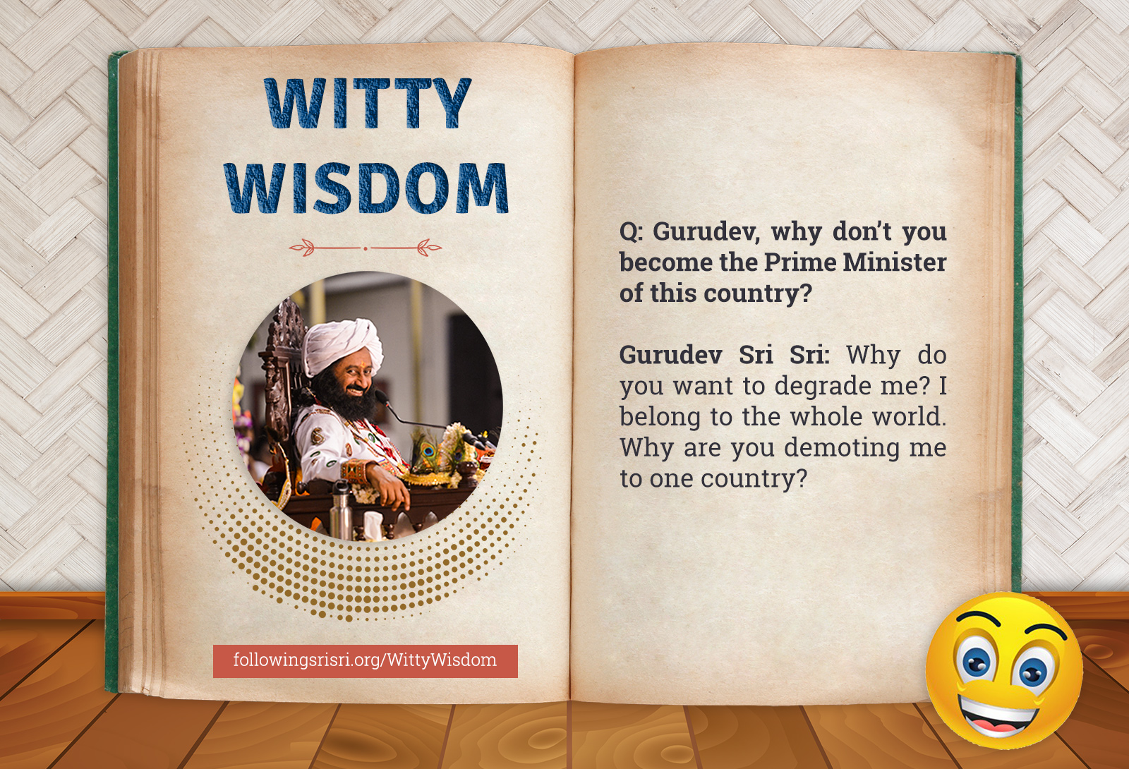 Prime Minister | Witty Wisdom