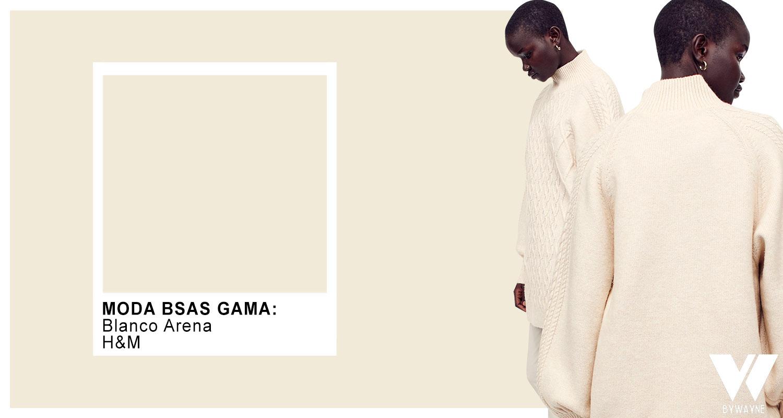 Blanco arena otoño invierno 2021 moda colores