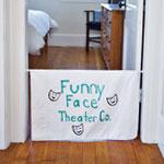 Pillowcase Puppet Theater step 1