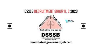 DSSSB, DSSSB-RECRUITMENT, DSSSB-GROUP-B-C-VACANCY,