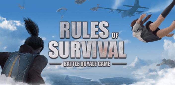 تحميل لعبة RULES OF SURVIVAL مهكرة اخر اصدار للاندرويد