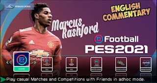 Download PES 2021 PPSSPP Android Offline Chelito V8.1 Best Graphics Commentator English Camera PS4 New Kits & Update Transfer