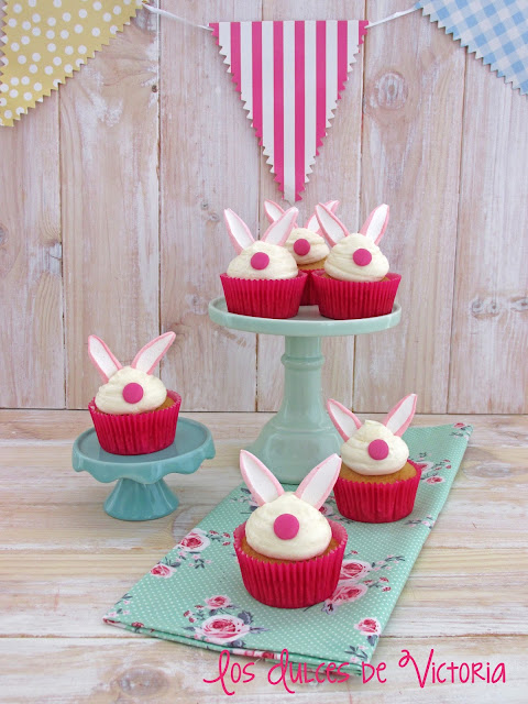 Cupcakes de conejitos