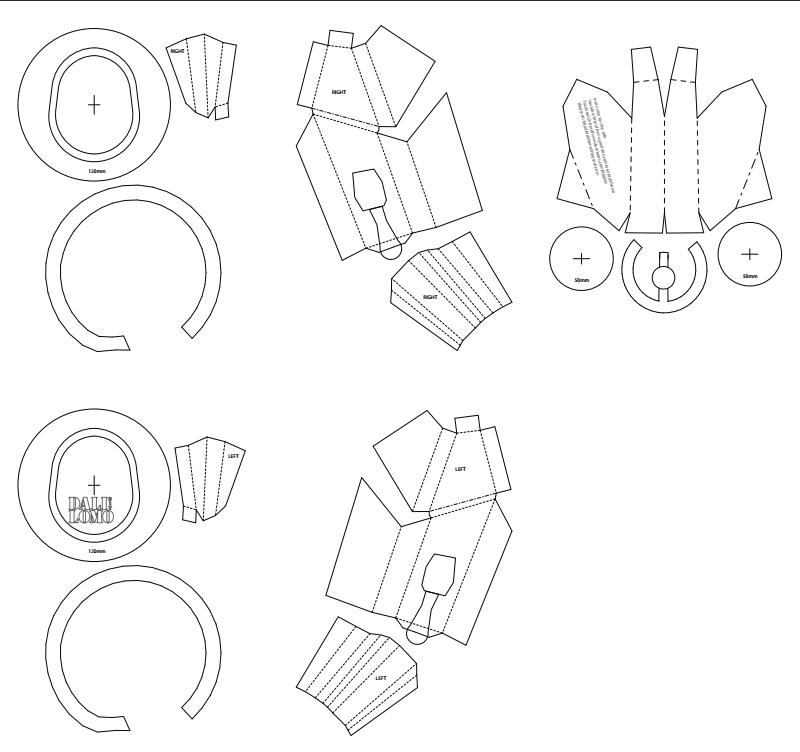 Dali-Lomo: Antman Costume Helmet DIY - Cardboard (free template)