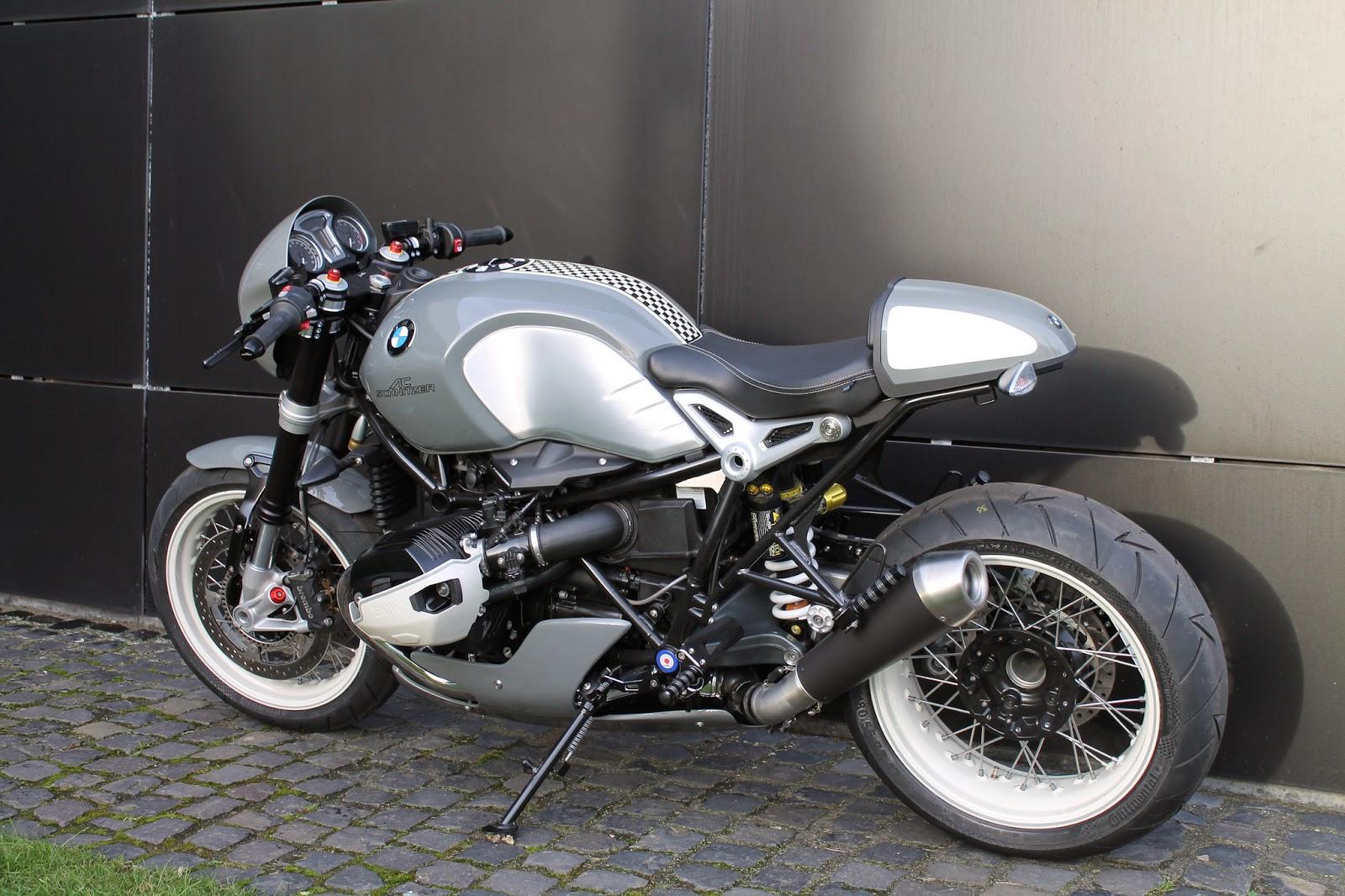 Racing Caf U00e8  Bmw R Ninet By Ac Schnitzer