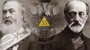Pike Mazzini freemasonry satanism Luciferianism war KKK