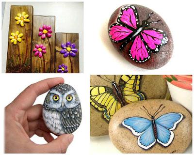 piedras-pintadas-mariposas