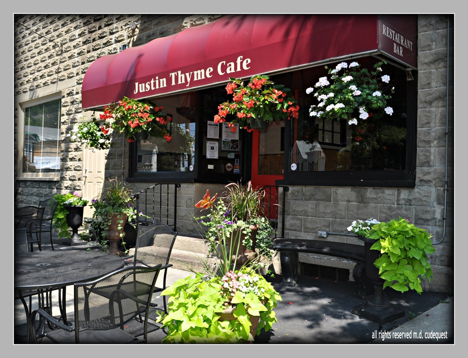 Everythingcroton Coming To The Old Justin Thyme Cafe Black
