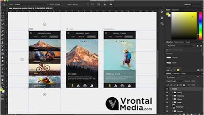 Tampilan Adobe Photoshopt - macam macam software desain grafis