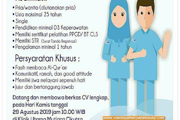 Lowongan Kerja Perawat Klinik Utama Mutiara Cikutra Bandung