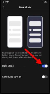3 Cara Mengaktifkan Dark Mode Di Semua HP Vivo