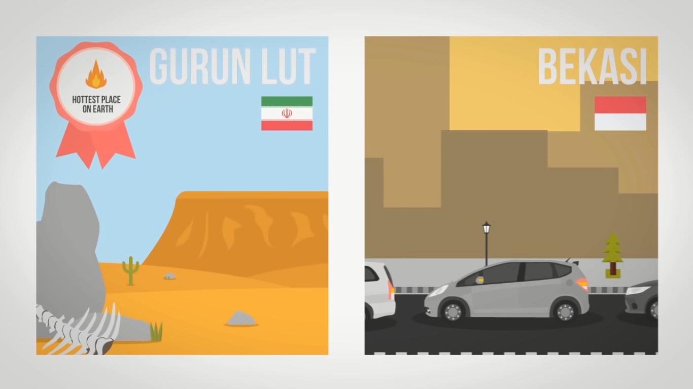 Dimanakah Tempat Terpanas Di Permukaan Bumi ?, Gurun Lut di Iran, Death Valley, Dasht-e Lut, Gurun Sahara