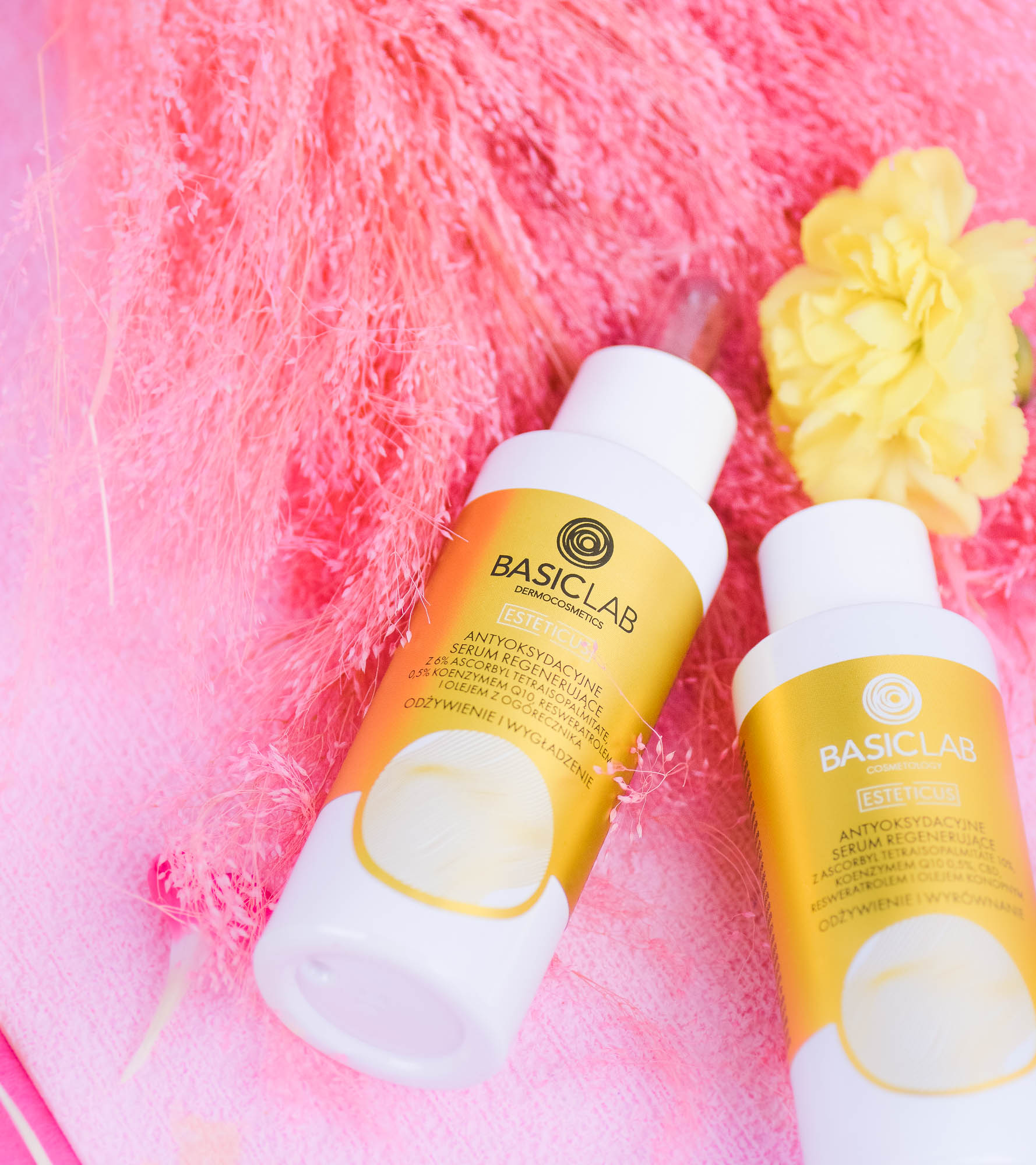 BasicLab - resweratrol, antyoksydacja i żółta miłość od pierwszego użycia.