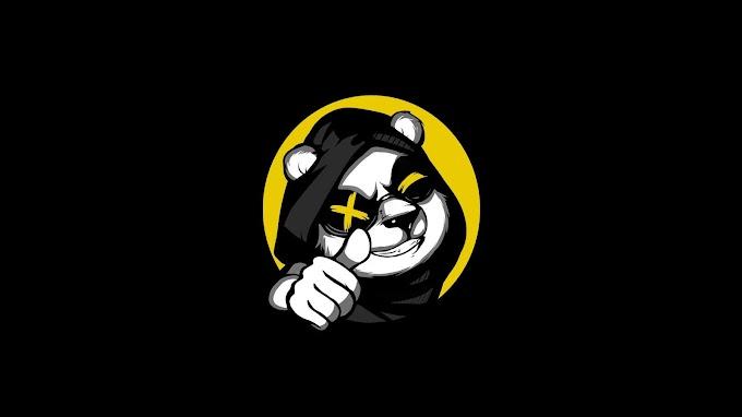 Papel de Parede Panda Arte Minimalista