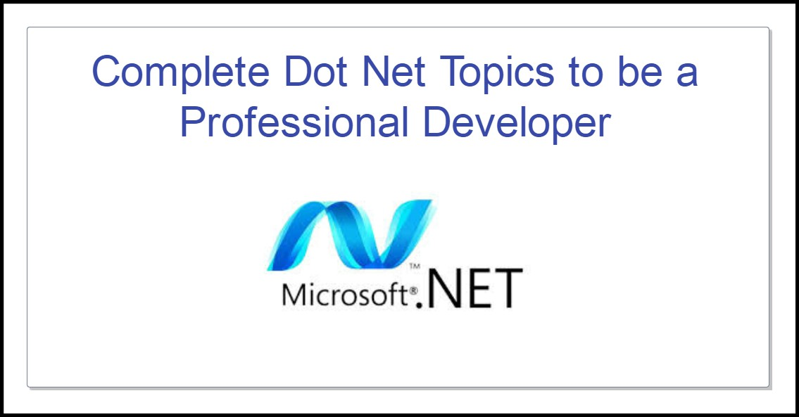 Dot Net Basic Concepts Pdf